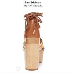 cc5fab0b663 Sam Edelman Shoes - Sam Edelman  Mel  Ankle Wrap Platform Sandal